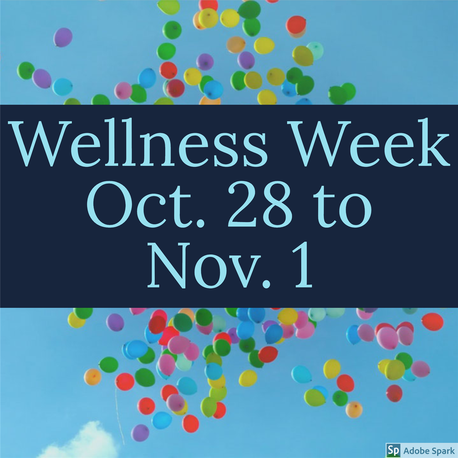 Wellness Week October 28 to November 1