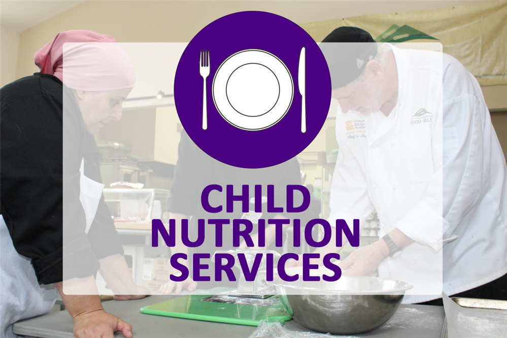 Image for the child nutrition services department landing page
