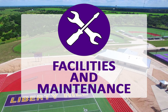 Image for the facilities and maintenance department landing page