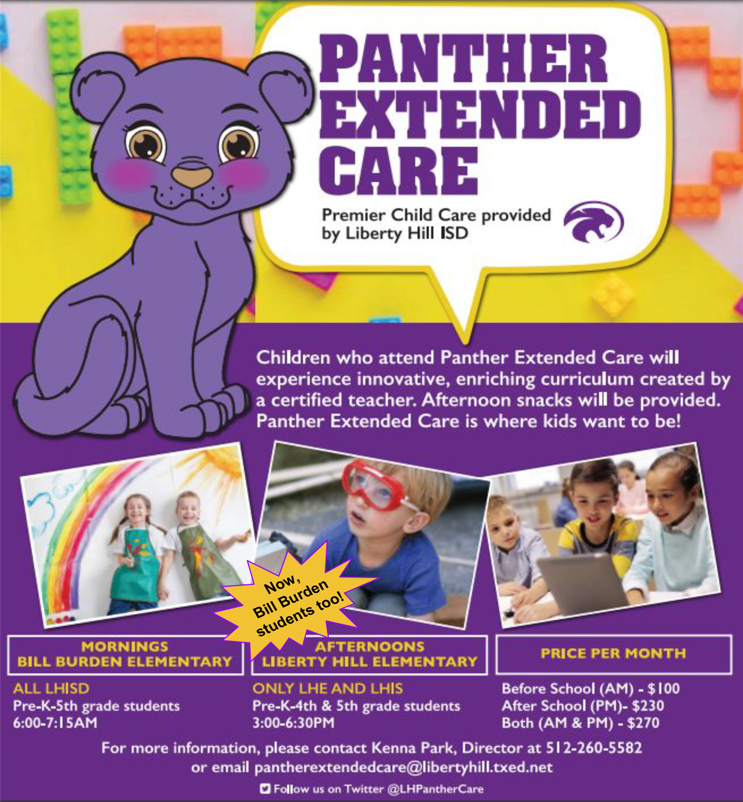 Image of Panther Extended Care Flyer