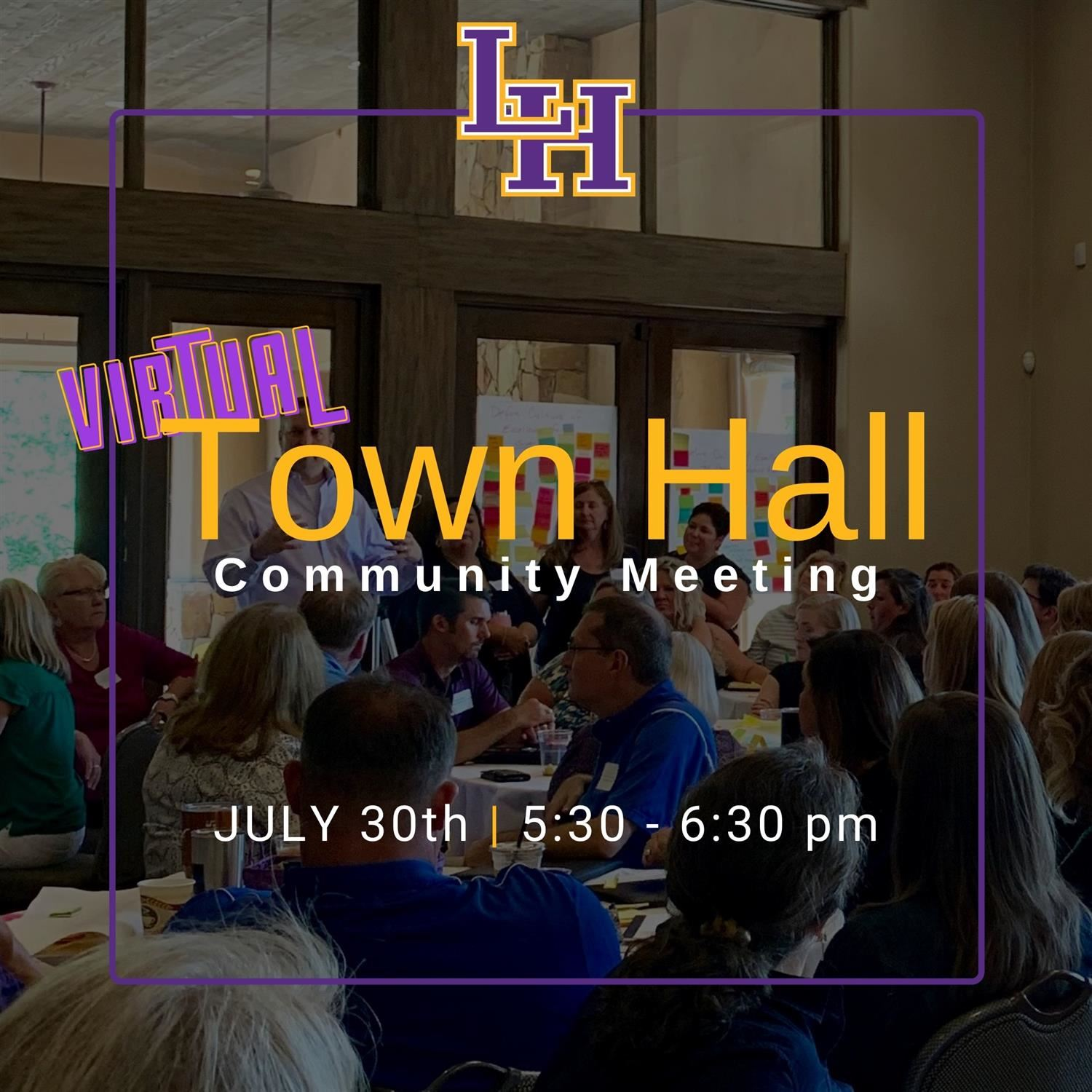Virtual Community Town Hall