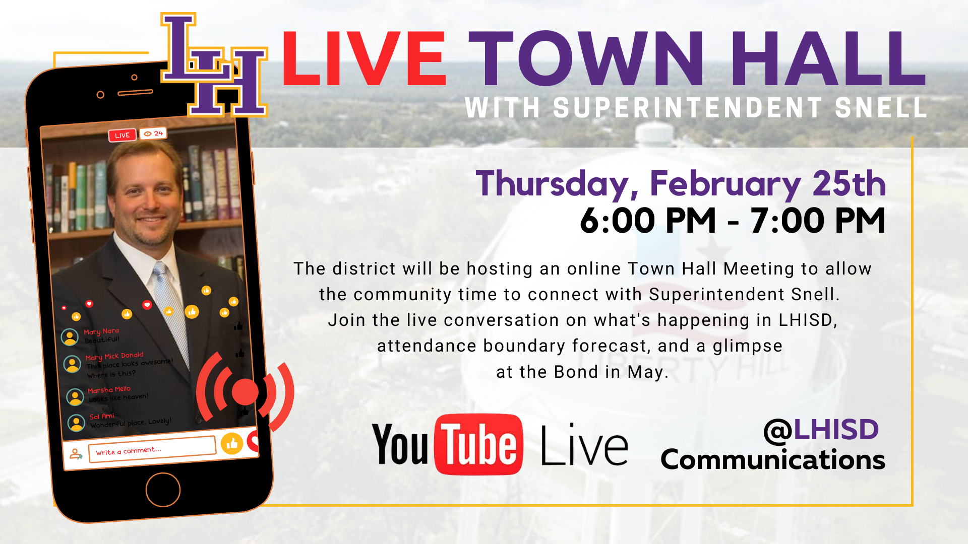 Town Hall 2/25