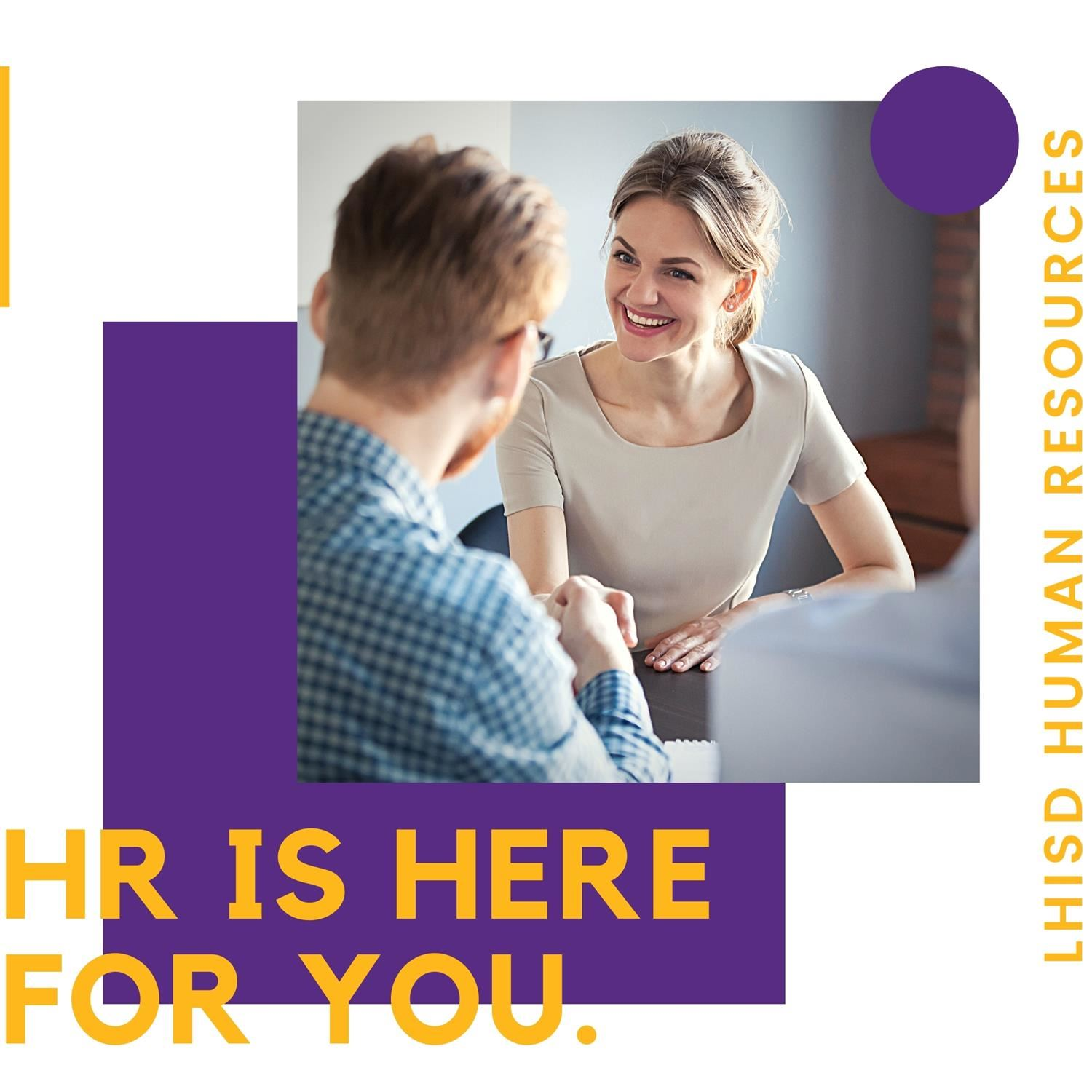 HR is Here for you