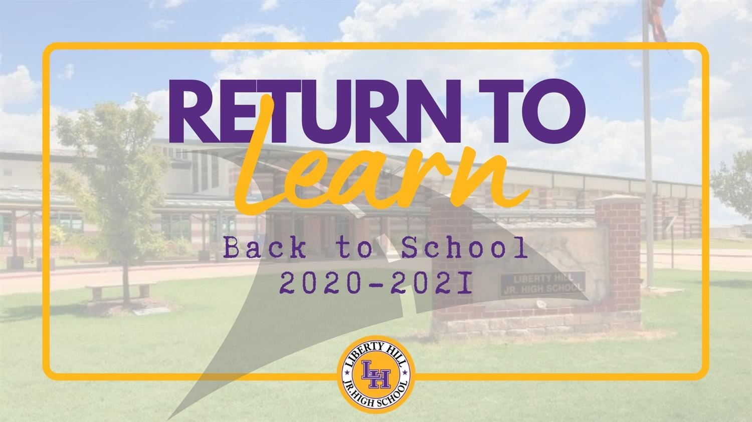 Return to Learn text logo
